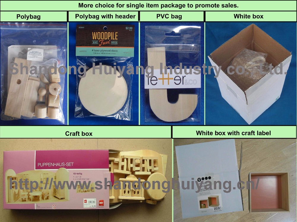 Wholesale Custom Wood Coin Saving Box with Color printing