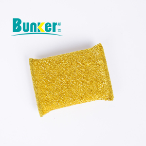 13*8.5*1.6 cm sponge scourer for kitchen cleaning