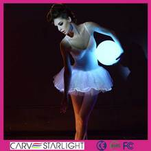 LED PetiteTutu Do Vintage Vestido da Dança Ballet Apertado One Piece Leotards Para As Mulheres League Of Legends Traje