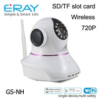Wifi/Network Burglar phone call camera alarm can add home control module with video alarm push GS-NH