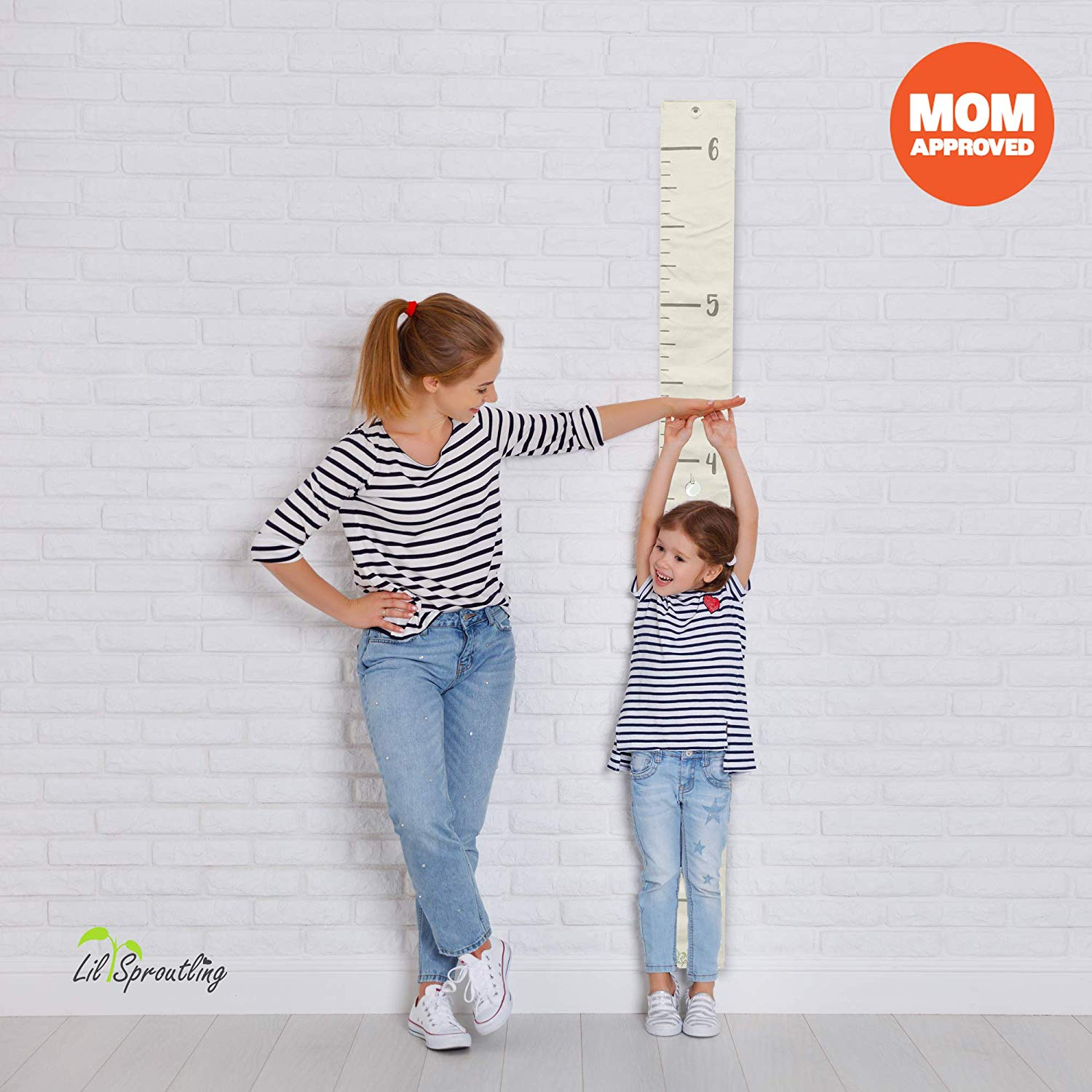 Warren Growth Chart Height Growth Chart to Measure Baby Grandchild kids ruler Height Measure Chart Wall Decoration Growth Ruler Gift Child pink