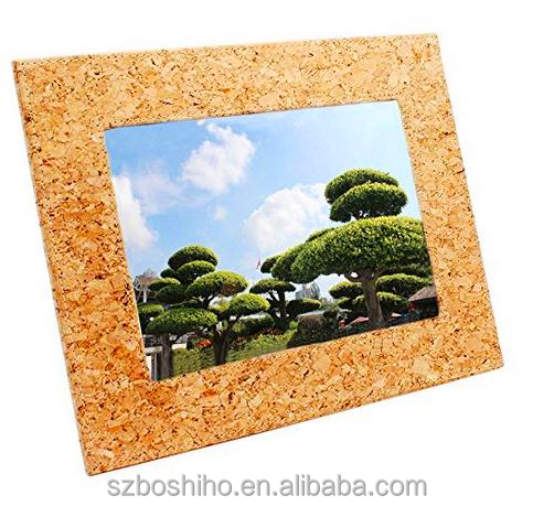 BOSHIHO eco-friendly product new design cork digital photo picture frame