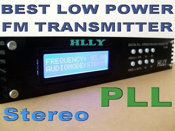5Watt 5W FM Stereo Transmitter PLL Low Power