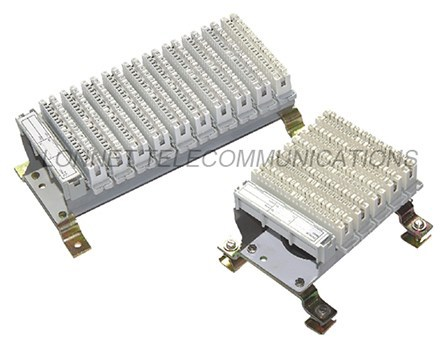 100 pair terminal block for cross connection cabinet