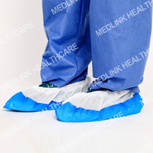 Disposable Protective anti skid plastic nonwoven shoe cover