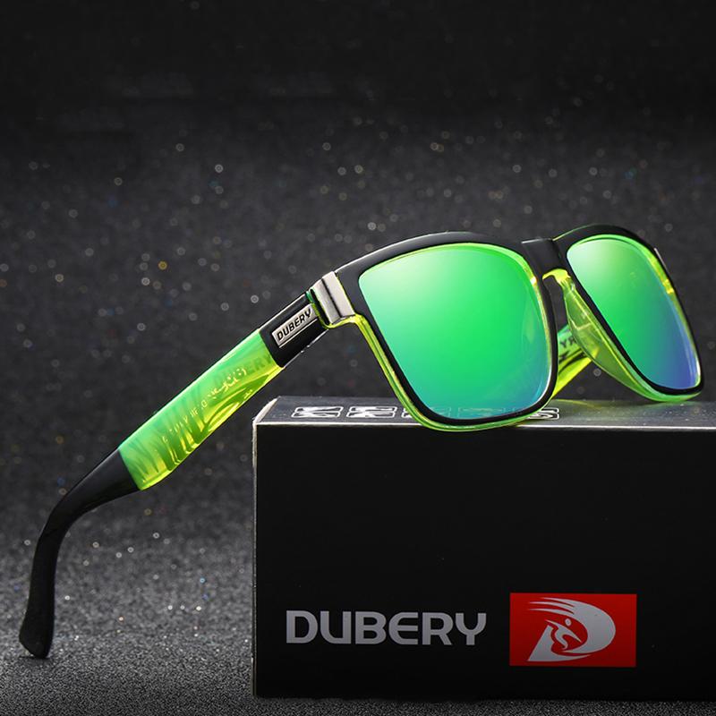 Marca dubery 2019, gafas de sol polarizadas deportivas de alta calidad para hombre y mujer, gafas de sol coloridas personalizadas al por mayor