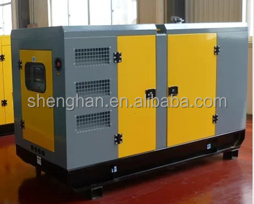 50 kw open type and silent type diesel generator with Ricardo engine and Copy Stamford alternator