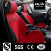 Superior Wool Eco-friendly Car Accessories Interior Seat Covers for Red Color