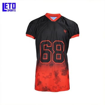 Custom Youth Full Dye Sublimation Quick Dry American Football Uniform