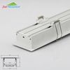 Recessed led profile aluminum channel mounting clip for ceiling