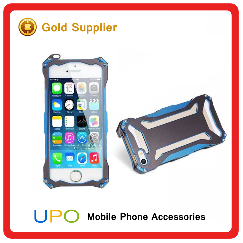 [UPO] for iPhone 5 Heavy duty Armor Waterproof Shockproof Metal Alloy cell phone case