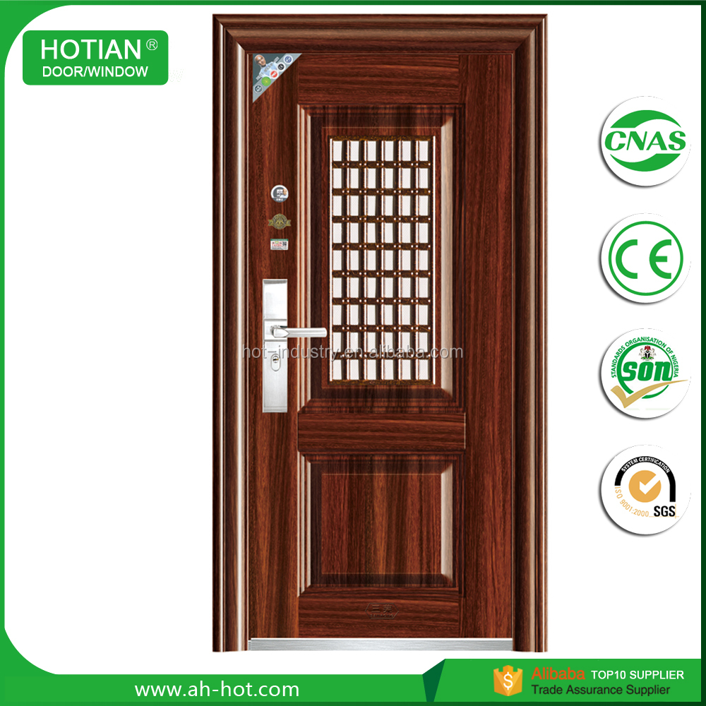 Main Gage Design Single Leaf Steel Safety Entrance Door Buy Main