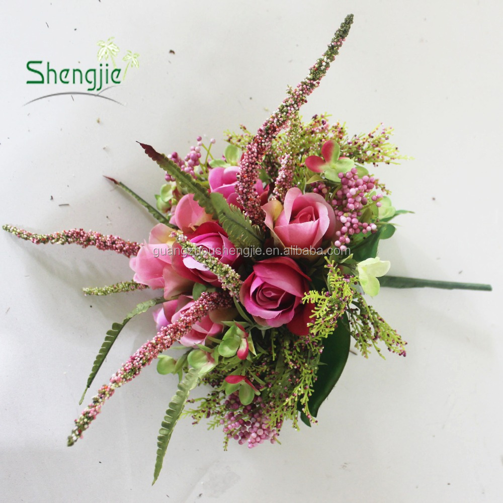 Beautiful Wedding Bouquet Wholesale Artificial Flower Rose Flower