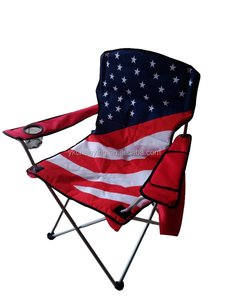 Beautiful Folding American Flag Camping Chair, Folding American Flag Camping Chair  Suppliers And Manufacturers At Alibaba.com