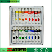 2017 New Richly Pigmented Oil Paint Colour 18x12ml Set on Amazon