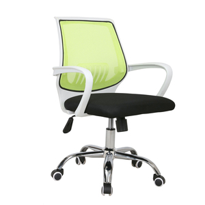Ekintop armchair office or visitor green office chair wheel base