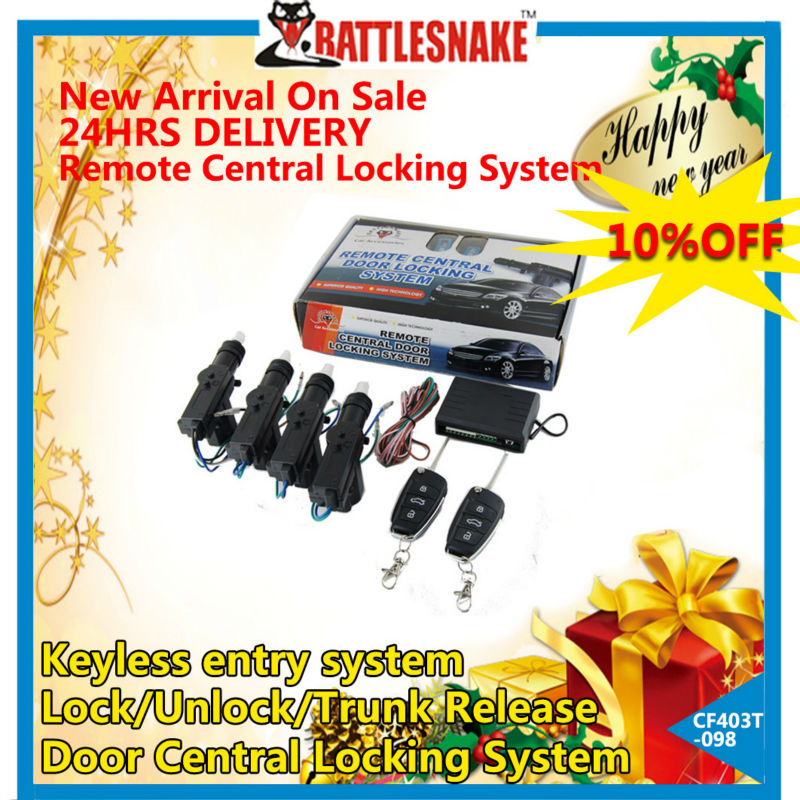 Remote car central locking system CF403T-098 remote control car central door lock system