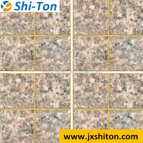 Top sale polished crystal mosaic bathroom design floor tiles
