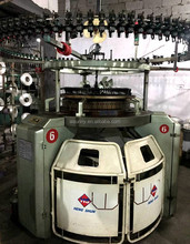 The popular used single jersey circular knitting machine