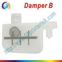 printer damper with small filter with big caliber for DX4 solvent printhead