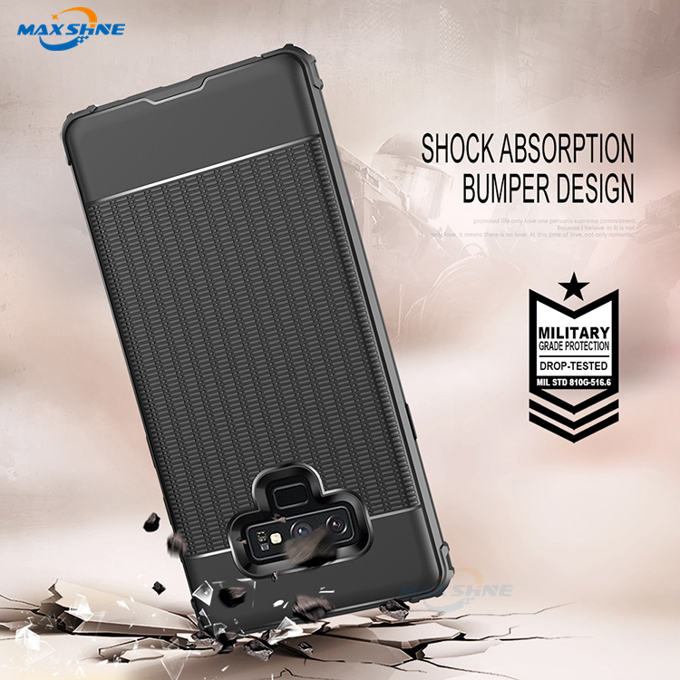Maxshine Trade Assurance Case Cover For Samsung S8 S9 High Quality Shockproof Tpu Phone Case