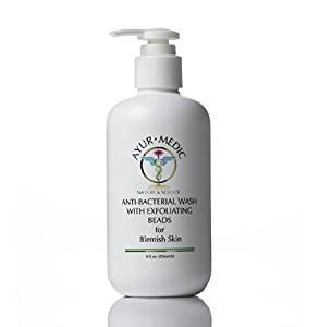 Ayur-Medic Anti-Bacterial Wash with Exfoliating Beads (8 oz)