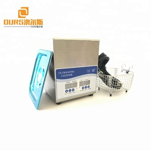 40KHz 2L 50W timer temperature adjust stainless medical laboratory ultrasonic cleaner