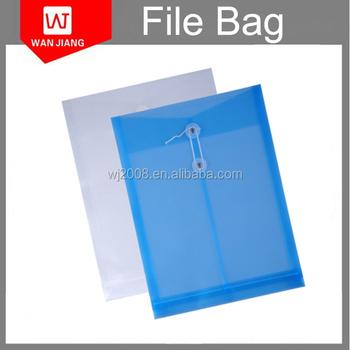 Transparent/Translucent Plastic A4 Letter Standard Envelope Sizes