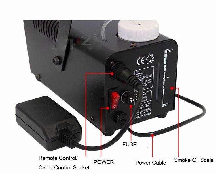 400W Fog Smoke machine With Remote Control