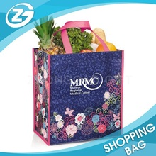Eco-Friendly Folding Non Woven Cheap Laminated Photo Print Shopping Bag
