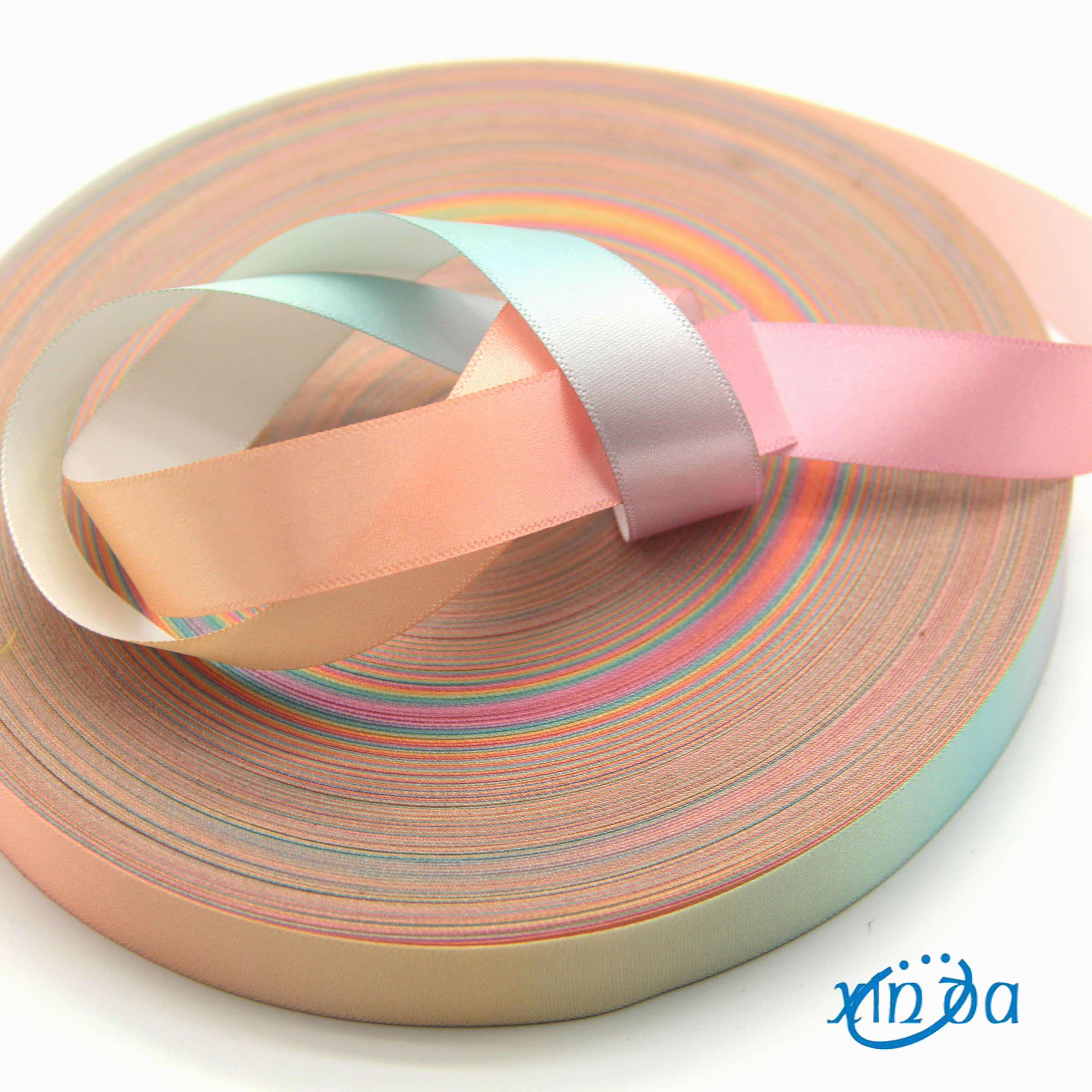 New Design Colorful Printed Ribbon/Printed Silk Ribbon/Printed Satin Ribbon