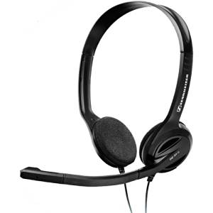 """Sennheiser Electronic Corporation - Sennheiser Pc 31-Ii Headset - Stereo - Mini-Phone - Wired - 32 Ohm - 40 Hz - 18 Khz - Over-The-Head, Behind-The-Neck - Binaural - Semi-Open - 9.84 Ft Cable - Noise Cancelling Microphone """"Product Category: Audio Electronics/Headsets/Earsets"""""""