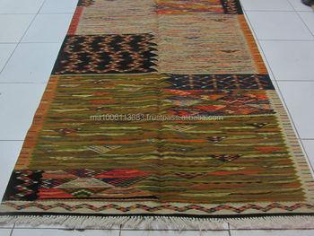 Tappeti Kilim Marocco : Marocchino berbero tessuti a mano di alta qualità tappeto di lana