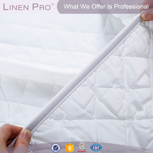 Linen Pro Luxury Hotel Quality Flat Quilted Mattress Protector Mattress Cover Mattress Pad
