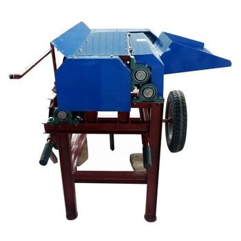 Best quality automatic hemp decorticator Kenaf decorticator fiber machine