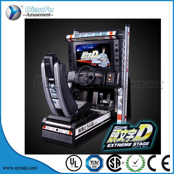 Initial D 4 Arcade Car Racing Game Machine