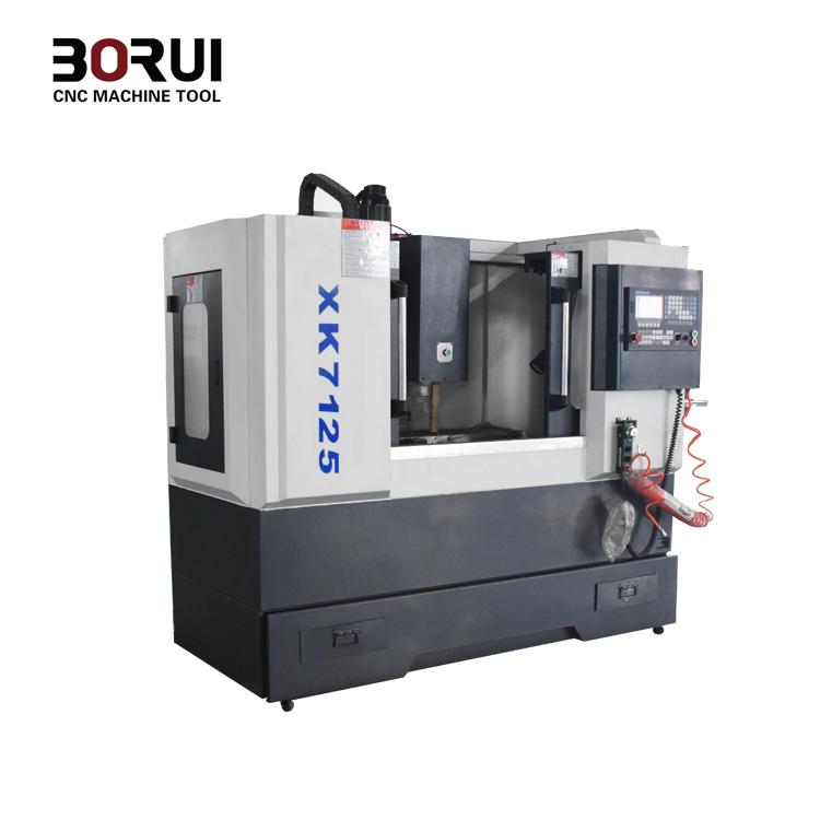 Xk7125 Borui Brand Small Cnc Mill Milling Machine Metal 240v - Buy Cnc Mill  Milling Machine,Mini Cnc Milling Machine For Steel,Cnc Milling Machine