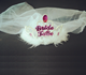 Novelty Bachelorette party Bride To Be Crown With White Veils
