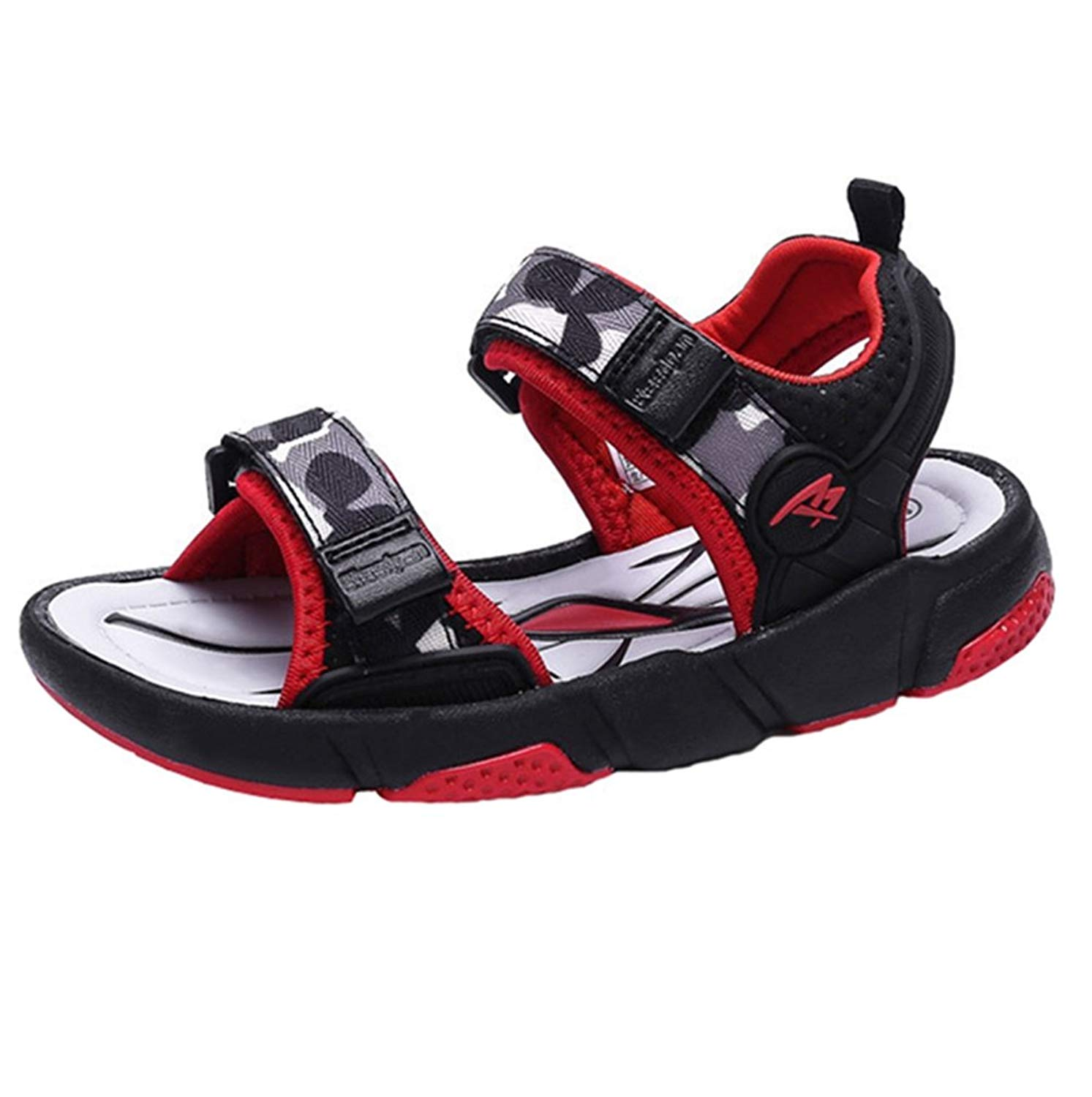 MOREMOO Boys Comfortable Casual Non-Slip Sandals Open Toe Shoes