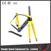 Carbon bicycle frames road for sales dengfu FM098 DI2 frame