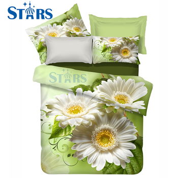 GS-FM3DF-10 cheap stock lot 3d bedsheet custom digital printed fabric for sale