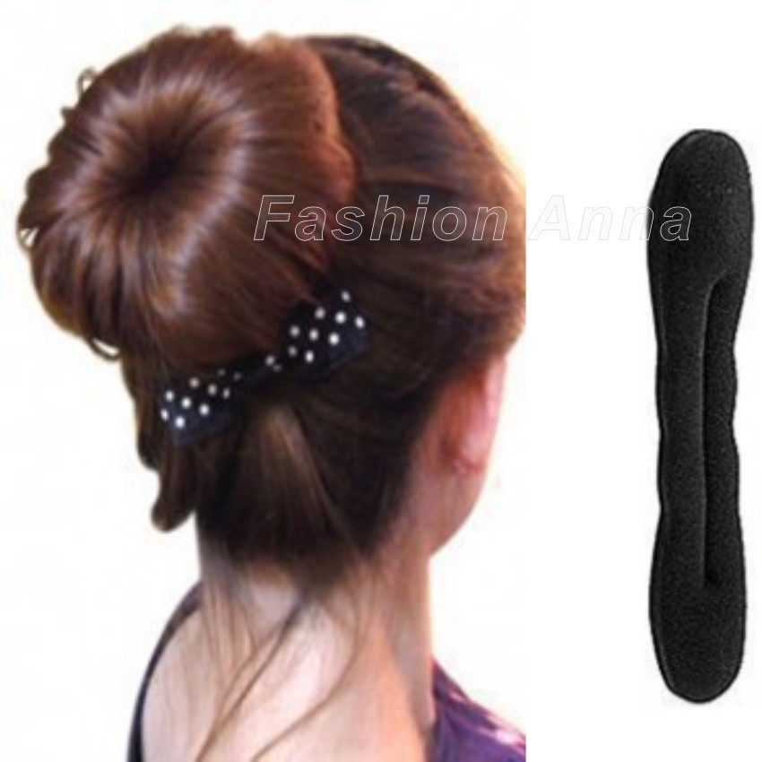 2pcs Set New Hair Braider Magic French Sponge Easy Diy Styling Tools Beauty Bun