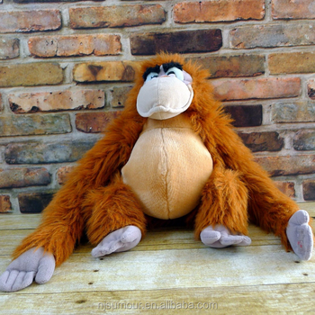 Roi Louie Singe Orang Outan De Livre De La Jungle En Peluche 14 Buy Animal Orang Outan Costume D Animal Orang Outan Marionnette A Main Animale