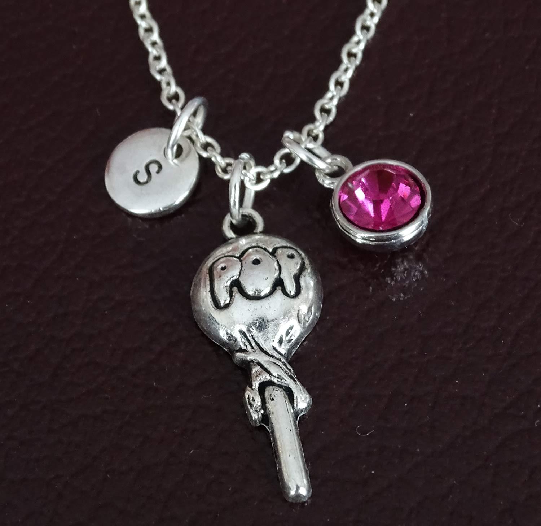 Lollipop Necklace, Lollipop Charm, Lollipop Pendant, Lollipop Jewelry, Candy Necklace, Candy Jewelry, Lollipop Girl, Lollipop Women, Lollipop Gift for Her, Lollipop Party, Candy Gift for Her