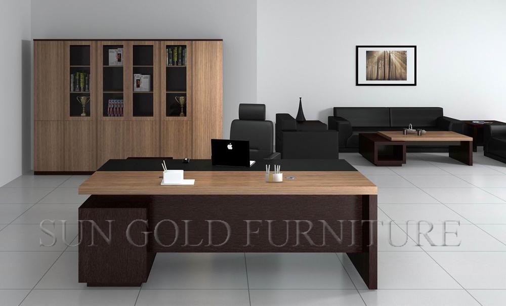 Luxury Office Desk 2015 Melamine Luxury Office Furniture Executive Desk Sz Od428 Buy Office