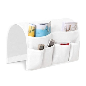 Couch Arm Chair Storage Bag TV Remote Control Book Cell Phone Drink Sofa Armrest Organizer