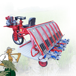 Agriculture machine for rice planter 8 rows paddy transplanter with the bottom price