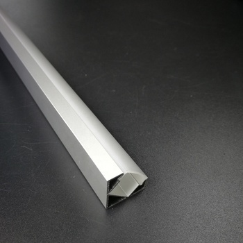 Wall corner aluminum extrusion profile channel for mounting corner led strip linear lighting