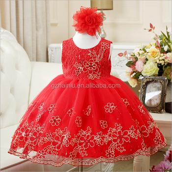 Baby Girl Party Dress Children Frocks Designs Wedding Dress Bridal ...