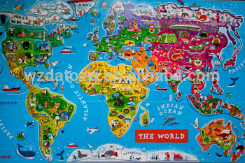 Laminated paper world map magnetic jigsaw puzzle mat buy laminated laminated paper world map magnetic jigsaw puzzle mat gumiabroncs Choice Image